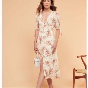 Reformation Bryar floral dress